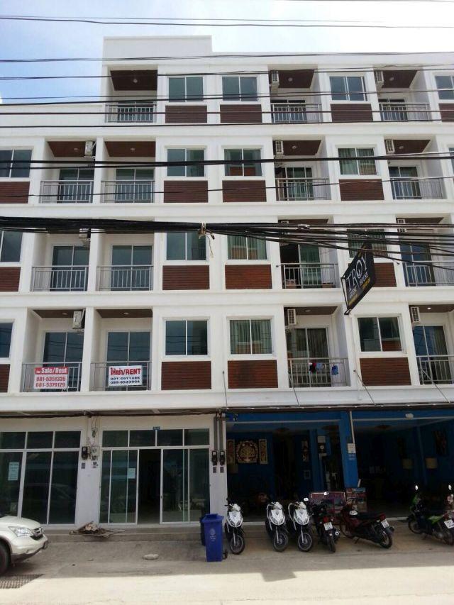 ขายอาคาร 5 ชั้น หน้าติดถนนสาย ก ป่าตอง เนื้อที่ 18.5 ตร.วา ขาย 18.5 ล้าน