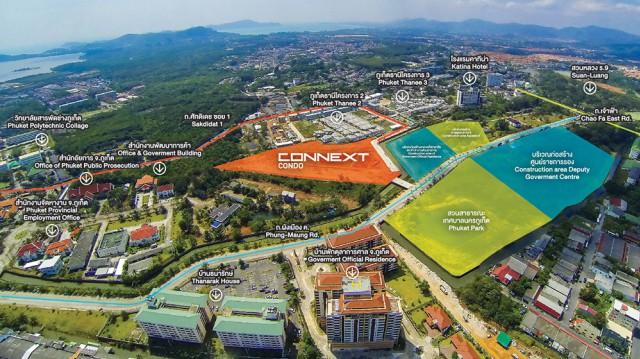 ขายที่ดินใจกลางเมืองภูเก็ตใกล้สวนสวนหลวง ร.9 เนื้อที่ 5 ไร่ ขาย 100 ล้าน