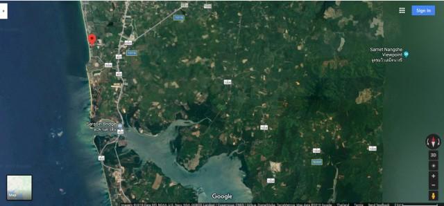 ขายที่ดินพังงาหน้าติดทะเลนาใต้(โคกกลอย)เนื้อที่ 7.5 ไร่ ขายเหมา 160 ล้าน