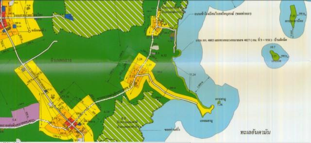 ขายที่ดินถลางใกล้ทะเลหน้าติดถ.บ้านผักฉีด-บ้านยามูเนื้อที่20ไร่ขาย 3.8 ล้านต่อไร่