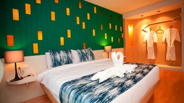 ขายกิจการโรงแรมใจกลางป่าตองอาคาร 7 ชั้น 3 คูหา จำนวน 33 ห้อง ขาย 119 ล้าน
