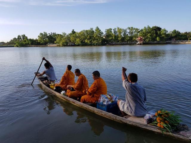 ขายที่ดินติดแม่น้ำแม่กลอง อัมพวา เมืองสมุทรสงคราม เนื้อที่ 4ไร่ ขายเหมา 30 ล้าน