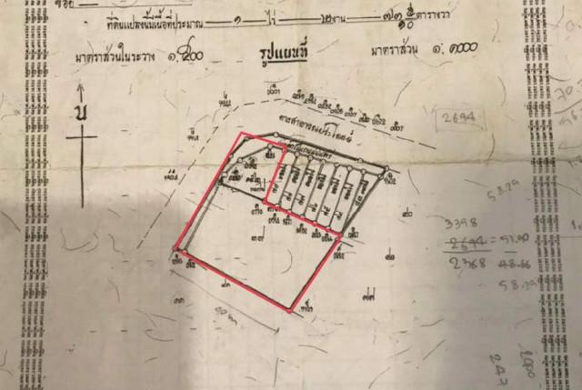 ขายที่ดินเมืองพังงา ในซอยข้างโรงพยาบาลพังงา เนื้อที่ 1 ไร่เศษ ขายเหมา 5.5 ล้าน