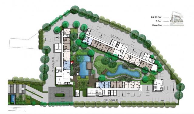 ขายด่วนห้องชุดใจกลางเมืองภูเก็ตในเซนทริโอคอนโดเนื้อที่ 45.8 ตร.ม.พิเศษ 2.35 ล้าน